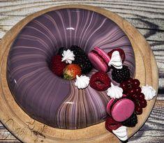 Erdei gyümölcs mousse torta tükörglazúrral – Desszertmesék Mousse, Acai Bowl, Panna Cotta, Breakfast, Ethnic Recipes, Food, France, Bible, Acai Berry Bowl