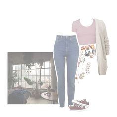 """i got to be on my own"" by thecheesywriter ❤ liked on Polyvore featuring Converse, Paul & Joe, Aesop and DK"