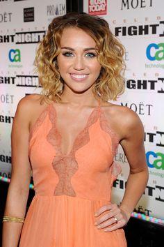 Miley Cyrus mit Bob