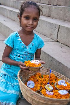 Selling Offerings - Ganges, India