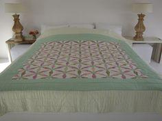 Handgemaakte quilt nummer 4 260 cm 260 cm - € 225,00 | VIA CANNELLA WOONWINKEL | CUIJK