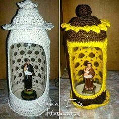 Oratório   #catolico #crochê #reciclagem #garrafapet #artesanato