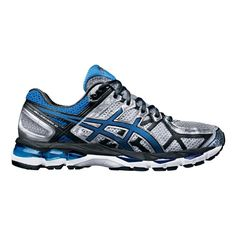 ee70cf1cb1b7 ASICS Men s Gel Kayano 21 Running Shoes Lightning Royal Black