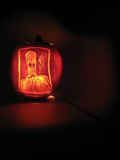grim fandango pumpkin