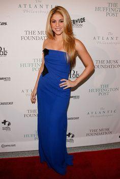 Shakira in The Huffington Post Pre-Inaugural Ball