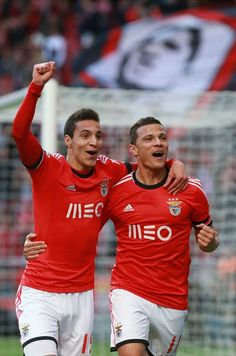 Rodrigo (19) e Lima (11) | Benfica - Académica (3-0) | 24ª Jornada Liga Zon Sagres | 23.03.2014 | Golos de Lima (2) e Enzo