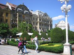 Timisoara - Temeswar - Zentrum - Temeswar.info Louvre, Street View, Building, Travel, Centre, Construction, Trips, Traveling, Tourism