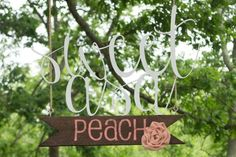 Peach Inspired Wedding