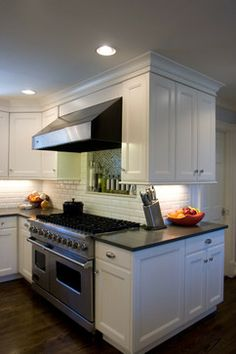 Home kitchen on pinterest marbles black kitchens and cabinets