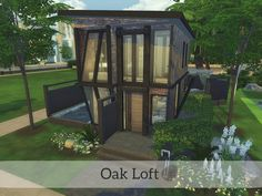 Sims 4 CC's - The Best: Oak Loft by Madabb13