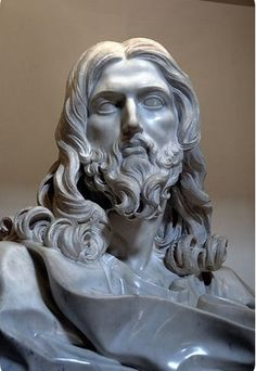 Gian Lorenzo Bernini - Cristo Salvatore- Basilica di San Sebastiano Tuscany. Bernini was an Italian sculptor and architect in the 17th century. While a major figure in the world of architecture, he was the leading sculptor of his age, credited with creating the Baroque style of sculpture. Bernini's reputation is one of the greatest artists of his time was already so strong, that he received large private commissions