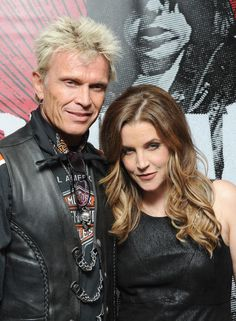 Billy Idol and Lisa Marie Presley - and they say politics makes for strange bedfellows!