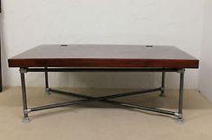 Schreibtisch | Konferenztisch groß  Palisander Kee Klamp Design