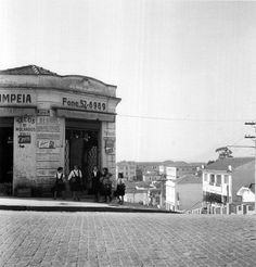Avenida Professor Alfonso Bovero. Foto de meados de 1950.