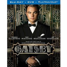 The Great Gatsby (2 Discs) (Includes Digital Copy) (UltraViolet)... ($25) ❤ liked on Polyvore featuring movies, dvd and entertainment