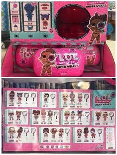 Lol Surprise Dolls Under Wraps Wave 2 Checklist Lol Dolls Baby Girl Toys Fun Crafts For Kids
