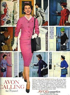 Avon Calling for 75 Years! (1886-1961), May 1961.