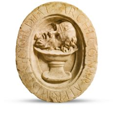 ITALIAN, 16TH CENTURY OVAL RELIEF WITH THE HEAD OF ST. JOHN THE BAPTIST