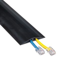 Small and large cord covers exterior pinterest floor cord 2 channel wire covers to protect communication lines or 14 through 22 gauge wire heavy duty industrial grade rubber construction publicscrutiny Gallery