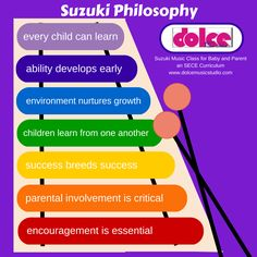 The seven concepts of the Suzuki Philosophy. Teaching Orchestra, Piano Teaching, Student Teaching, Teaching Philosophy, Philosophy Of Education, Music Education, Music Classes For Babies, Music For Kids, Violin Lessons