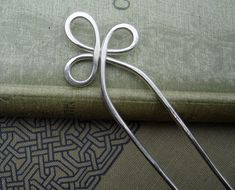 Sterling Silver Hair Fork or Shawl Pin by nicholasandfelice, $ 58.00 >> Oh this is so beautiful!!!
