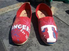 Texas Rangers Est '72 BOB's  $25 + Cost of Shoes