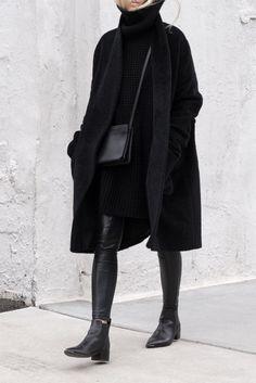 Fashion Mode, Look Fashion, Winter Fashion, Womens Fashion, Fashion Black, Fashion Trends, Trendy Fashion, Fashion Ideas, Fashion Styles