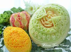 melon & papaya & apple