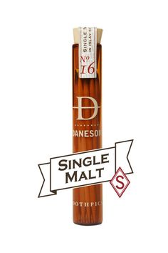 Our Single Malt Nº16 is aSELECT batch premium blend and as a result it has a higher price. This is because they are made with very old, very good, very expensive single malt scotch and are a pain in the arse to make. This time consuming process is unique to Daneson, and the resulting toothpicks are for those who enjoy finer things in life.
