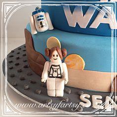 Princess Leia and sugar figurines Cupcake Cakes, Cupcakes, Star Wars Cake, Lego Cake, Princess Leia, Sugar, Cupcake, Cup Cakes, Cup Cakes