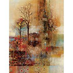 Golden Park 22x28 Canvas Art, Multicolor