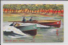 GB MOTOR BOAT RACES. POSTALLY USED 1937? ADHESIVE MISSING (AVILLA)  | eBay