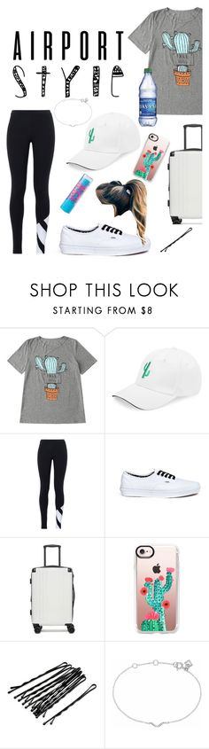 """""""Cactus Lover"""" by trysie ❤ liked on Polyvore featuring adidas Originals, Vans, CalPak, Casetify, Chapstick, Maya Magal and airportstyle"""