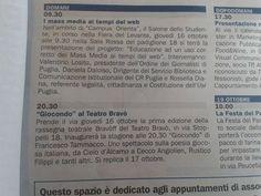 EPolis Bari, 15 ottobre 2014.