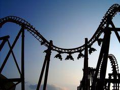Kings Island face off / invertigo Ancient Words, Kings Island, Amusement Park, Roller Coaster, Ohio, Fair Grounds, World, Cincinnati, Parks