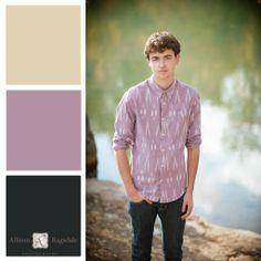 Senior Portrait Outfit Color Palette, Dusty Rose, Allison Ragsdale Photography, Durango CO