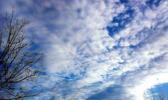 #cielo #superlativo #mattino d' #inverno #stagioni