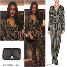 Yay or Nay : Kareena Kapoor in DVF and Christopher Kane
