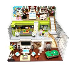 LEGO Dream House | Finalist in ACGHK2015 Bathroom - Colorful… | Flickr