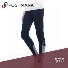"""Hu-nu ace legging in """"woo-hoo"""" style • Sz M Hu-nu?s flattering attire will highlight your trimmed and toned physique so that you are pumped for your next exercise session! Nothing feels better than flaunting all your hard work. Best of all, the on-trend apparel is chic enough to wear around town, whether you're lunching with the ladies or browsing boutiques. The fact that you've just finished a workout can be our little secret. """"Hu-nu?"""" MSRP $148 hu-nu Pants Skinny"""