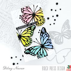 Butterfly Cutout, White Butterfly, Butterfly Cards, Butterfly Wings, Cheer Party, Handmade Tags, Die Cut Cards, Pretty Cards, Beautiful Butterflies