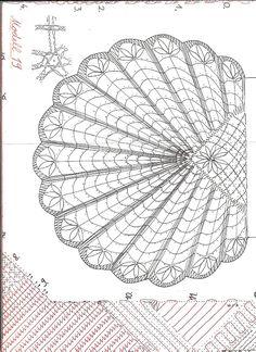 bolsos - anaiencajes - Picasa Web Album Filet Crochet, Crochet Motif, Irish Crochet, Crochet Patterns, Bruges Lace, Lace Bag, Bobbin Lace Patterns, Lacemaking, Point Lace