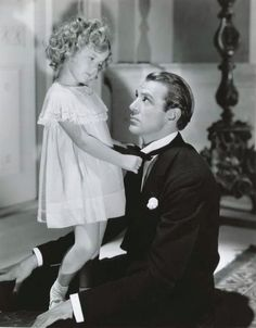 *SHIRLEY TEMPLE & GARY COOPER ~ in Now and Forever, 1934.