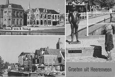 Oude ansichtkaart Heerenveen