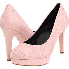 Rockport Janae Pump. I don't usually like a lot of pink, but a brightly colored shoe can give an outfit some pop :)