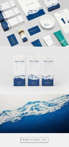 Sophisticated mens skincare package design by... | Art & Design | Nae-Design Sydney Interactive Blog - created via https://pinthemall.net