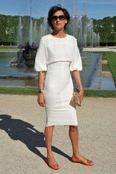 Inès de La Fressange en Versalles