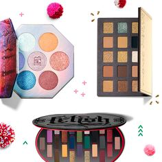 Early to plan, early to shop…our holiday palettes were early to drop 😍