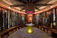 Image 2 of 14 from gallery of Thurston Wine House Addition / Jones Studio. Photograph by Ed Taube & 67 best Wine Cellar lighting images on Pinterest | Wine cellars ...