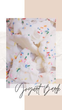 Yogurt Bark: A New Favorite Snack! Greek Yogurt Bark Recipe, Best Greek Yogurt, Frozen Greek Yogurt, Greek Yogurt Recipes, Vanilla Greek Yogurt, Recipe With Vanilla Yogurt, Kids Yogurt, Slushie Recipe, Candy Making
